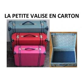 La petite valise en carton - Tutoriel de Christine Corbeau