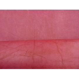Népalais enduit froissé rouge framboise