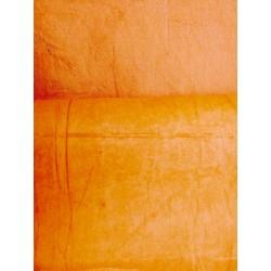 Népalais enduit froissé orange
