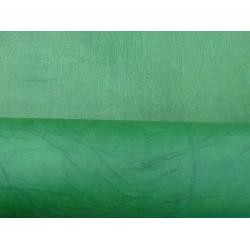 Népalais enduit froissé vert emeraude