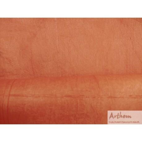 Népalais enduit froissé rouge brique