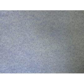 Dahlias bleu sur gris
