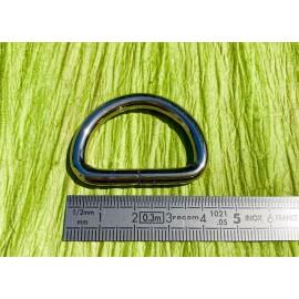 Demi anneau  nickel (D)