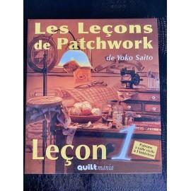 Les leçons de patchwork leçon 1