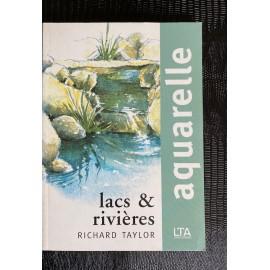 Aquarelle Lacs et rivières
