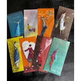 Lot de 6 cartes de Gaëlle Boissonnard