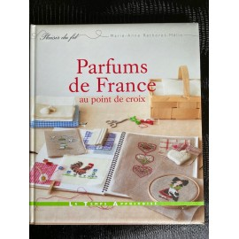 Parfums de France au point de croix