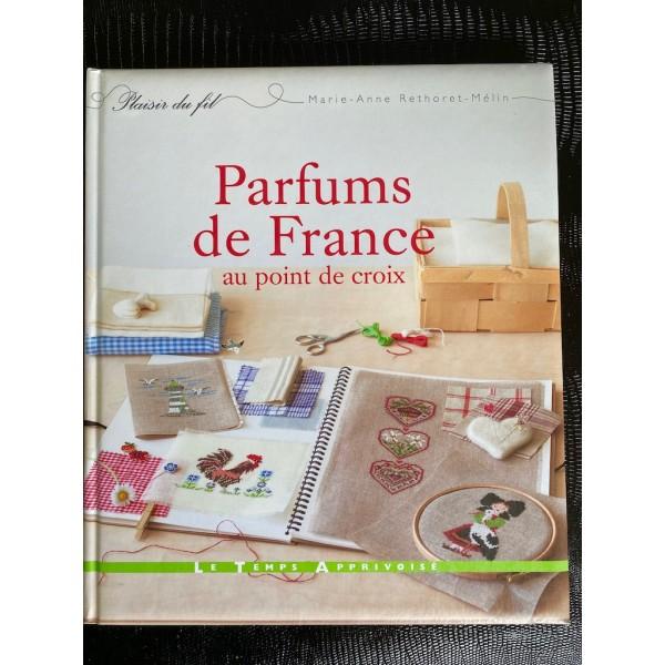 Parfums de France au point de croix