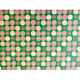 Spirales sur vert