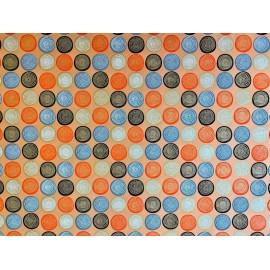 Spirales orange sur orange