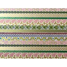 Japonais patchwork en bandes