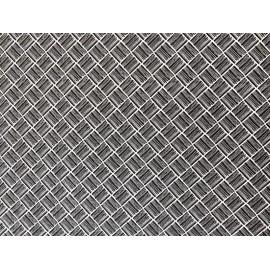 Géométrie losange noir sur blanc