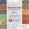 Pack Origami papiers imprimés indiens fantaisie Namaste