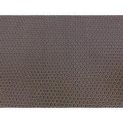 Japonais diagonale de points brun/vert
