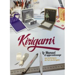 Cahier de Kirigami le manuel d'apprentissage
