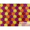 Hexagones papier ciré