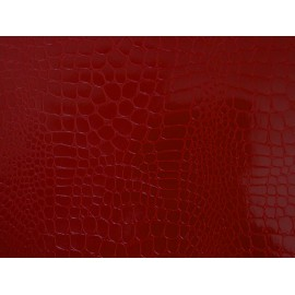 Pellaq croco rouge