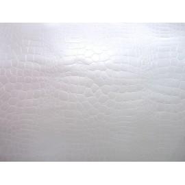 Pellaq croco blanc