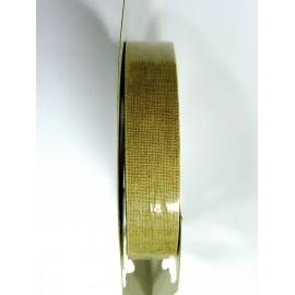 Rouleau ruban adhésif en lin largeur 15mm