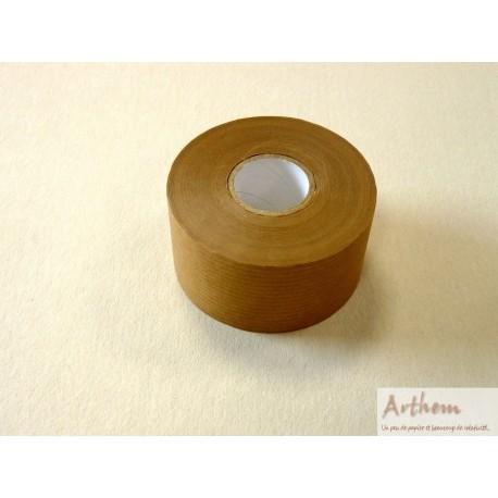 Rouleau de kraft gommé brun 40m x 37,5 mm