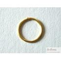 Lot de 10 anneaux dorés pour encadrement
