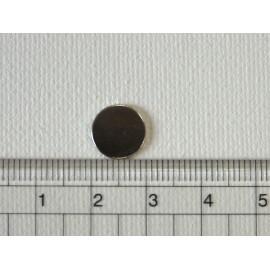 Lot 10 aimants ronds 1 cm