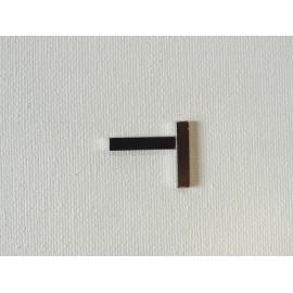 Lot 2 aimants rectangulaires 20x4x2mm