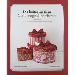 Les boîtes en tissu Cartonnage & patchwork