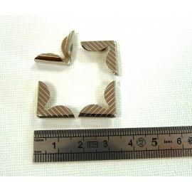 4 angles nickel 15x15x3
