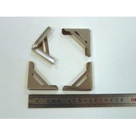 4 angles nickel 25x25x5