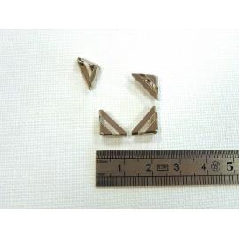 4 angles nickel 11x11x3